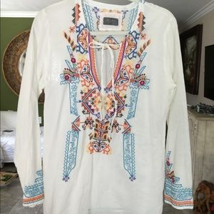 BIYA JOHNNY WAS blouse size S  very good condition